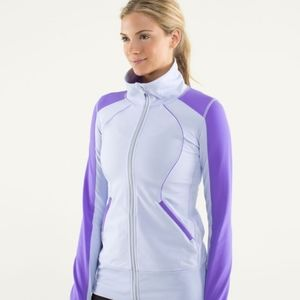Lululemon Contempo Jacket in Cool Breeze